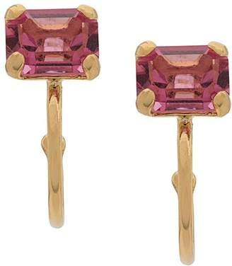 Wouters & Hendrix Rose Crystal Earrings