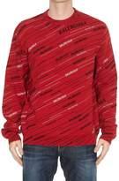 Balenciaga Jacquard Crew Neck Sweater