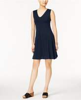 Style&Co. Style & Co Crisscross-Back Dress, Created for Macy's