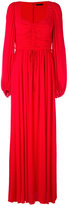 Alexander McQueen sweetheart neck gown - women - Silk/Viscose - 40
