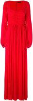 Alexander McQueen sweetheart neck gown