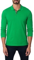 Jared Lang Men's Long Sleeve Polo