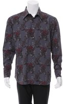Brioni Paisley Print Button-Up Shirt
