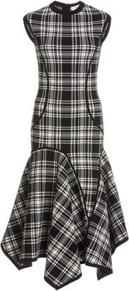 Michael Kors Plaid Cady Dress