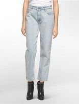 Calvin Klein Boyfriend Fit Blue Acid Wash Jeans