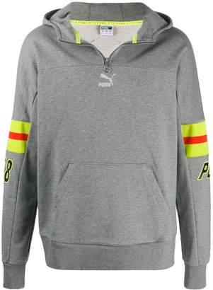 Puma reflective stripe hoodie