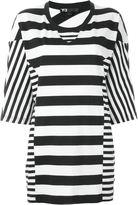 Y-3 contrast stripe oversized T-shirt
