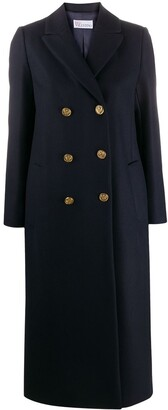 RED Valentino Double-Breasted Coat