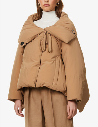 Rito Hooded shell-down puffer jacket