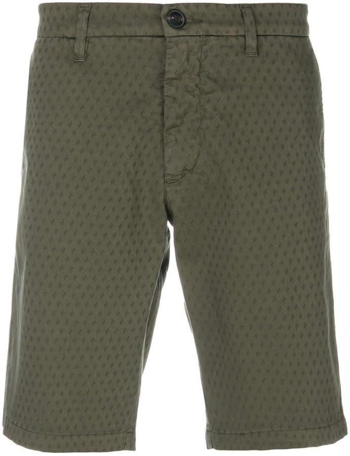 Eleventy jacquard chino shorts