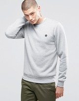 Element Logo Crew Sweatshirt Grey Heather