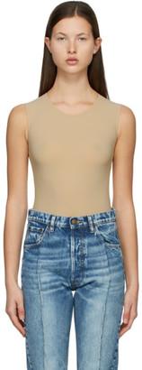 Maison Margiela Beige Second Skin Bodysuit