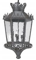 Darya 3 - Light Lantern Geometric Chandelier with Wrought Iron Accents Astoria Grand