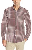 Dockers Long-Sleeve Two-Tone Grid Woven Shirt
