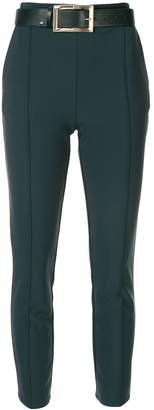 Elisabetta Franchi high-waisted belted trousers