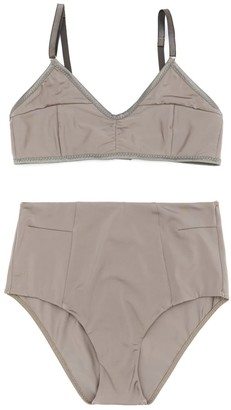 Miss Outt Grey Line Swimsuit