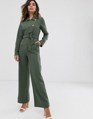 UNIQUE21 military long sleeve jumpsuit