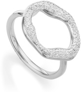 Monica Vinader Riva Diamond Circle Ring