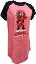 Marvel Comics Here Comes Deadpool Plus Size Night Shirt for women