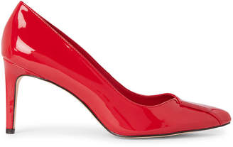 Calvin Klein Cherry Red Kaia Patent Pumps