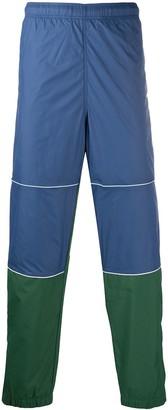 Lacoste Colour-Block Straight-Leg Trousers