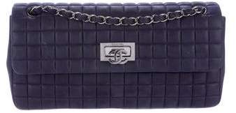 Chanel New Bubble Quilt E/W Flap Bag