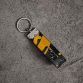 Burberry Splash Trench Leather Key Ring