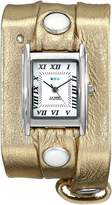 La Mer Women's LMMTW1001 Metallic Gold Triple Wrap Watch