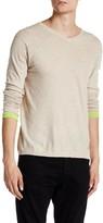 Zadig & Voltaire Finfer Long Sleeve V-Neck Pullover Sweater