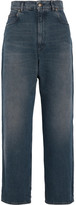 Golden Goose Deluxe Brand Kim High-rise Wide-leg Jeans - Mid denim