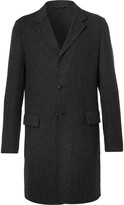 Prada Slim-Fit Double-Faced Wool, Silk and Cashmere-Blend Overcoat