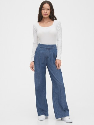 Gap High Rise Wide-Leg Pants