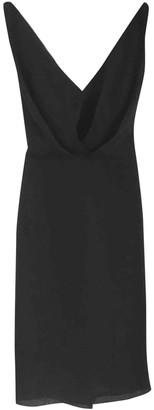 Martin Grant Black Silk Dress for Women