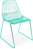 Bend Goods Lucy Stacking Chair, Emerald