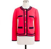 J.Crew Lady jacket in double-serge wool
