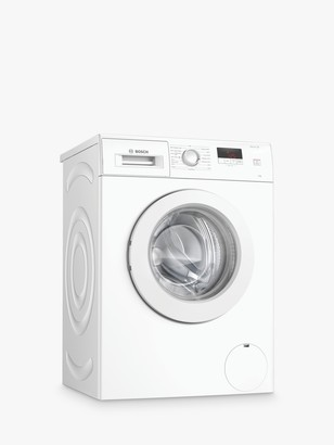 Bosch WAJ24006GB Freestanding Washing Machine, 7kg Load, A+++ Energy Rating, 1200rpm Spin, White