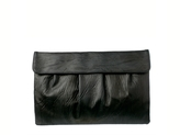 Townsend Oversized Pleated Clutch