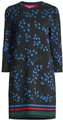 Sea Breeze Floral T-Shirt Dress