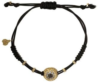 Pippo Perez 18kt Gold Diamond Sapphire Adjustable Bracelet