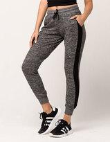 Full Tilt Cozy Striped Womens Jogger Pants