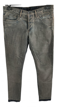 Rick Owens Grey Denim - Jeans Trousers