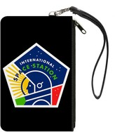 Buckle-Down Unisex-Adult's Canvas Coin Purse International Space Station