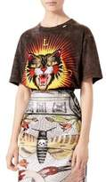 Gucci Jersey Tiger Cotton Tee