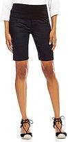 Intro Petite Kim 5-Pocket Pull-On Bermuda Shorts