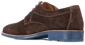 Lloyd Contrast Sole Derby Shoes