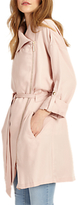 Phase Eight Pam Drapey Mac, Soft Pink