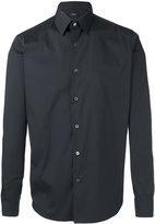 Theory Sylvain long sleeve shirt - men - Cotton/Spandex/Elastane/Polyimide - M