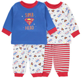George 2 Pack Superbaby Pyjama Set