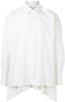 Fumito Ganryu Back Pleated Shirt