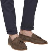 Office Finsbury Woven Tassle Loafers